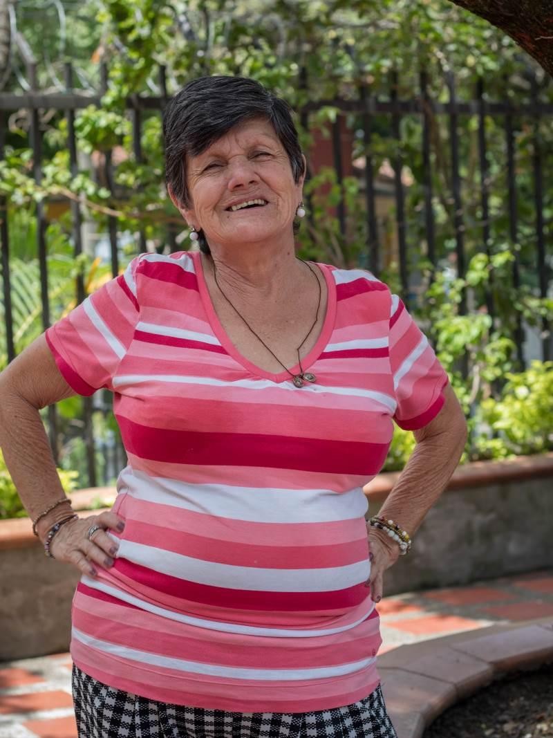 Julia Rosa Grajales - Hogar del Desvalido