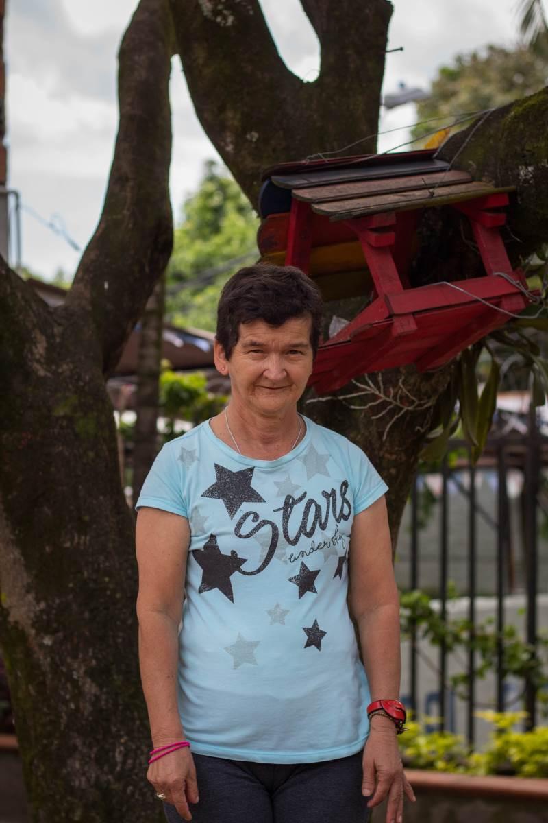 María Beiva Arias - Hogar del Desvalido